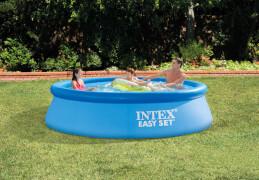 INTEX EasySet Pool, Wasserbedarf ca. 3853 l, 305x76cm, Anschlußmöglichkeit für Filterpumpe #28602GS