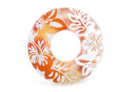 Schwimmreifen ''Clear Color Tubes'', ab 9 Jahre, 3 fach sort., # 91cm