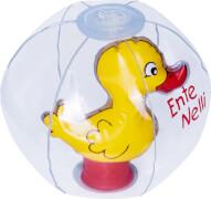 Wasserball mit 3D-Figur Ente Nelli