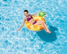Schwimmreifen Pineapple Tube, ab 9 Jahre, 117x86cm