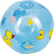 Die Spiegelburg 14816 Ente Nelli - Wasserball, # ca. 25 cm, transparent