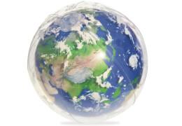 Wasserball Erde mit LED-Licht, # 61 cm