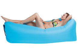 Happy People LOUNGER TO GO®, blau, ca. 240 x 70 cm