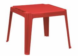Kindertisch rot Kunststoff