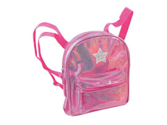 Hologramm Rucksack pink