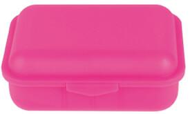 Brotbox + 1 Innenteiler Pink