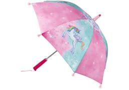 Die Spiegelburg 14958 Einhorn-Paradies - Regenschirm, mit Lichteffekten, # ca. 70 cm