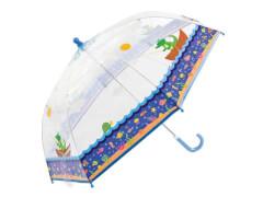 Kinder-Schirm transparent Alligator (4)
