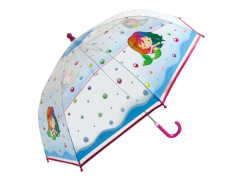 Kinder-Schirm transparent Meerjungfr.(4)