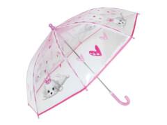 Kinder-Schirm transparent Hund (4)