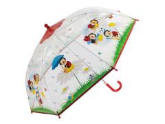 Kinder-Schirm transparent Marienkäf.(4)