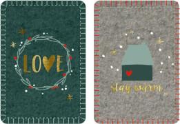 Wärmekissen Endlich Weihnachten!, sortiert