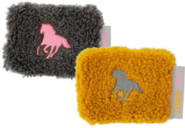 Wärmekissen I LOVE HORSES, sortiert  Plüsch