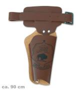 FRIES - Revolverguertel, ca. 90 cm Laenge (Lederfaserstoff)