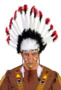 Indianer Kopfschmuck orgi. STD