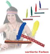 FRIES - Stirnband Indianer, sort. Modelle