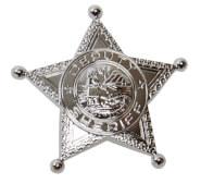 Sheriffstern silber