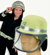 Feuerwehrhelm, bewegliches Visier, Groesse variabel von 47 cm - 57 cm