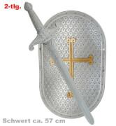 FRIES - Ritter-Set, 2-tlg., Schwert 57 cm
