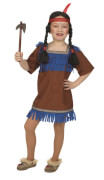 Apachen-Kleid Gr.152
