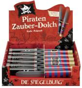 Die Spiegelburg 21285 Capt'n Sharky - Piraten Zauber-Dolch, ca. 22 cm, sortiert