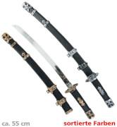 Ninja-Schwert, farblich sortiert, ca. 55 cm Laenge