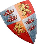 Schild, Prinz Löwenherz - LIONTOUCH