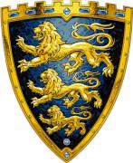 Schild, Drei Löwen - LIONTOUCH