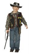 Kostüm Cowboy-Weste orgi. 128