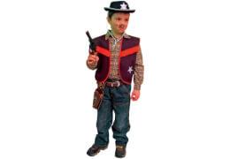 Cowboy-Weste schwarz 140