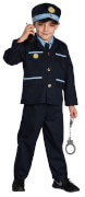 Kostüm Blauer Polizist orgi. 128