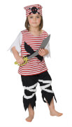 Kostüm Little Pirat Gr.164