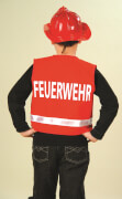 Spielweste Feuerwehr, 1-tlg., rot, PB , Gr. 104