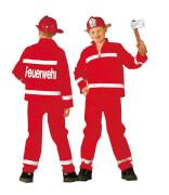 Kostüm Feuerwehrmann GR:128