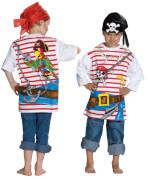Kostüm Spieleshirt Pirat Gr.140