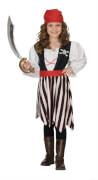 Kostüm Piraten Girl orgi. 128