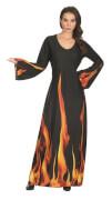 Feuerzauber-Kleid Gr.44/46