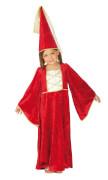 Kostüm Burgfräulein rot 128