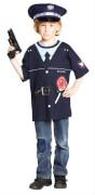 Kostüm Spieleshirt Polizei orgi. 140