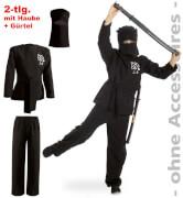 FRIES - Ninja, 1-tlg. mit Gürtel + Haube, Gr. 140