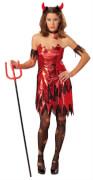 Kostüm Sexy Teufelin rot 40, Karneval