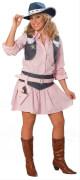 Kostüm Cowgirl rosa rosa 40