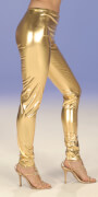 Leggings, gold Gr.36