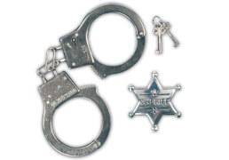 Polizei-Set 2tlg., Kostüm Zubehör