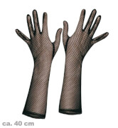 FRIES - Handschuhe Netz schwarz, 40 cm