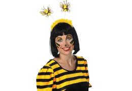 Haarreif Biene, Kostüm Zubehör