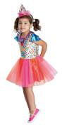 Kostüm Clowngirl orgi. 104