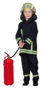 Kostüm Feuerwehrmann orgi. 128