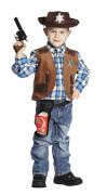 Kostüm Sheriff Weste Gr.116