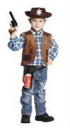 Kostüm Sheriff Weste Gr.128
